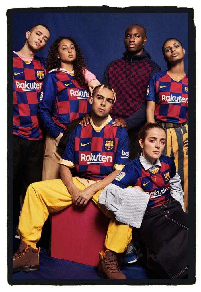 Barcelona, Nike, 2019-20, home shirt