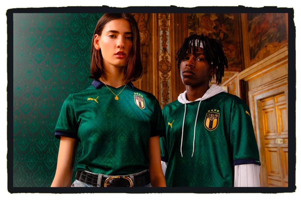 Italy, Renaissance, Puma, 3rd Kit