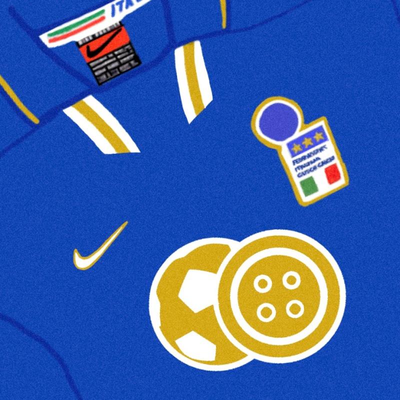 Italia azzurri sartorial.soccer logo