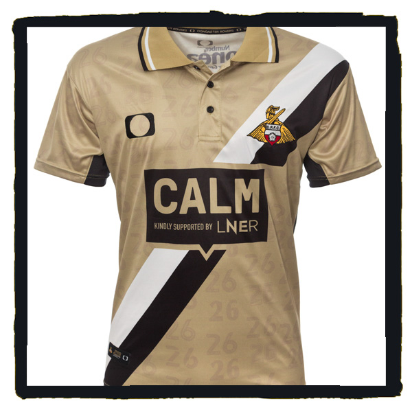 Doncaster Rovers, James Coppinger, Gold Shirt