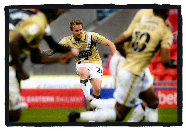 James Coppinger, Doncaster Rovers, Gold, Shirt