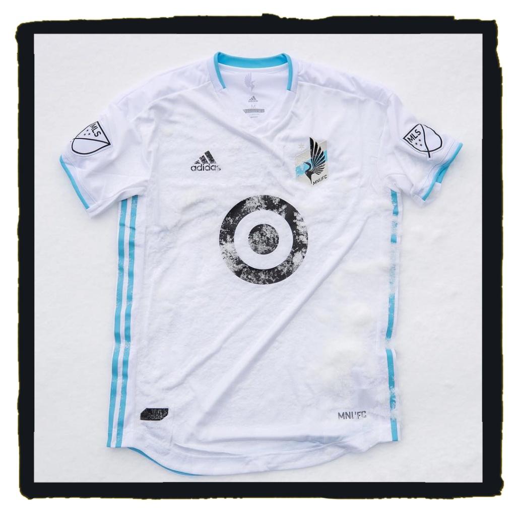 Minnesota United, MLS, Adidas, 2021, away, jersey, soccer