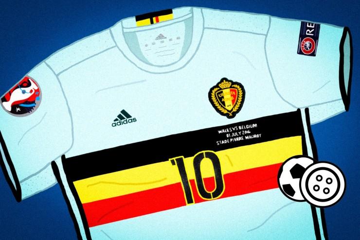 Belgium, Away, Euro 2016, Adidas, Cycling, Jersey, Sartorial.Soccer