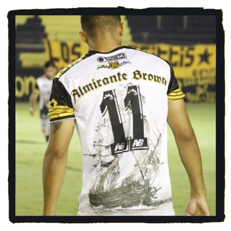 Club Almirante Brown, anniversary tribute shirt, Retiel