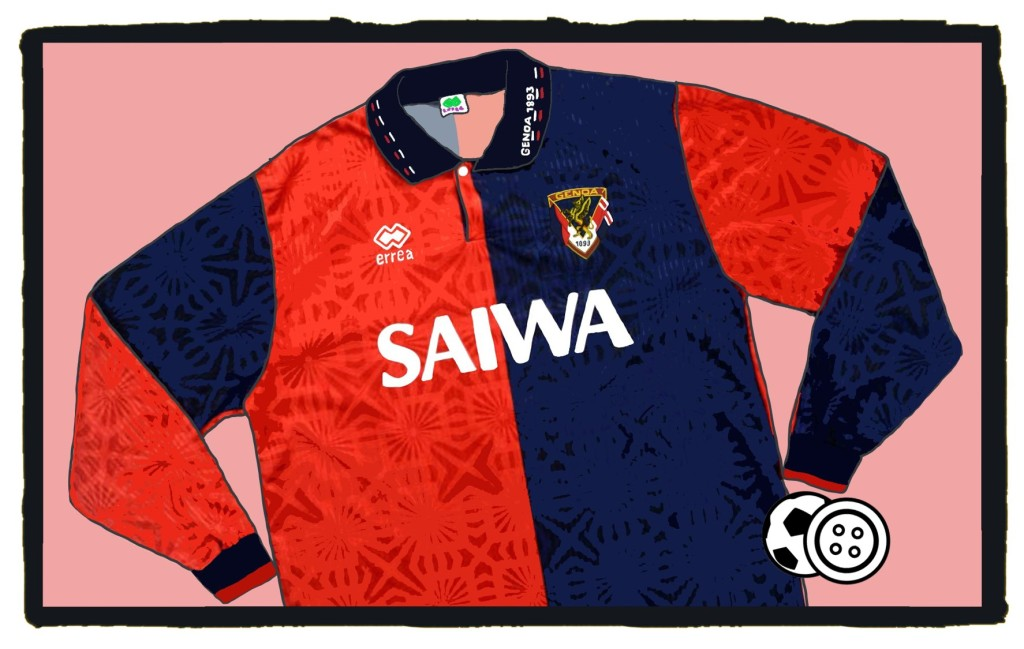 Genoa, Errea, maglia, Serie A