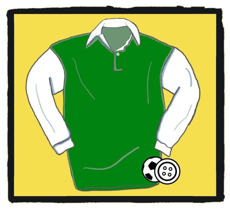 Hibernian, Hibs, Football, Shirt, 1950s, Famous Five