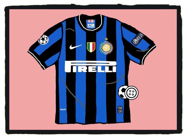 Internazionale, 2010, Champions League, shirt, maglia, Nike