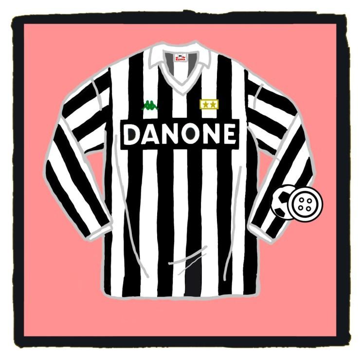 Juventus, Danone, Kappa, shirt, Bianconeri