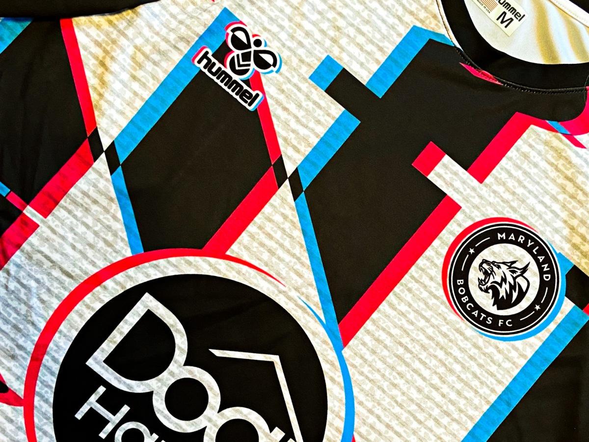 Maryland Bobcats, Glitch, Goalkeeper, Shirt, 2021, Jersey, NISA, US Soccer