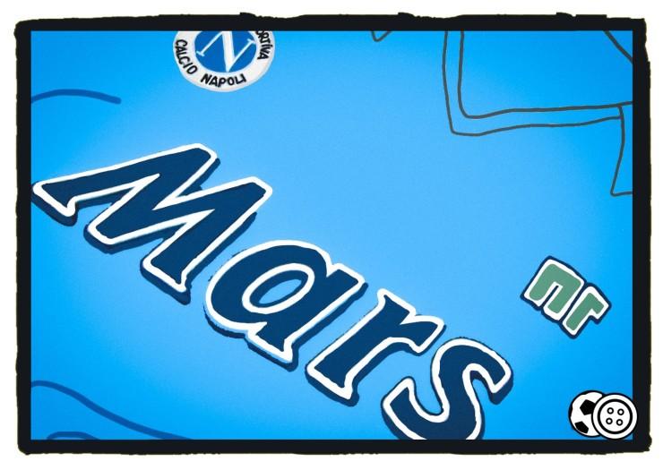 Napoli, Ennerre, Mars, Maradona, Malia, kit, shirt