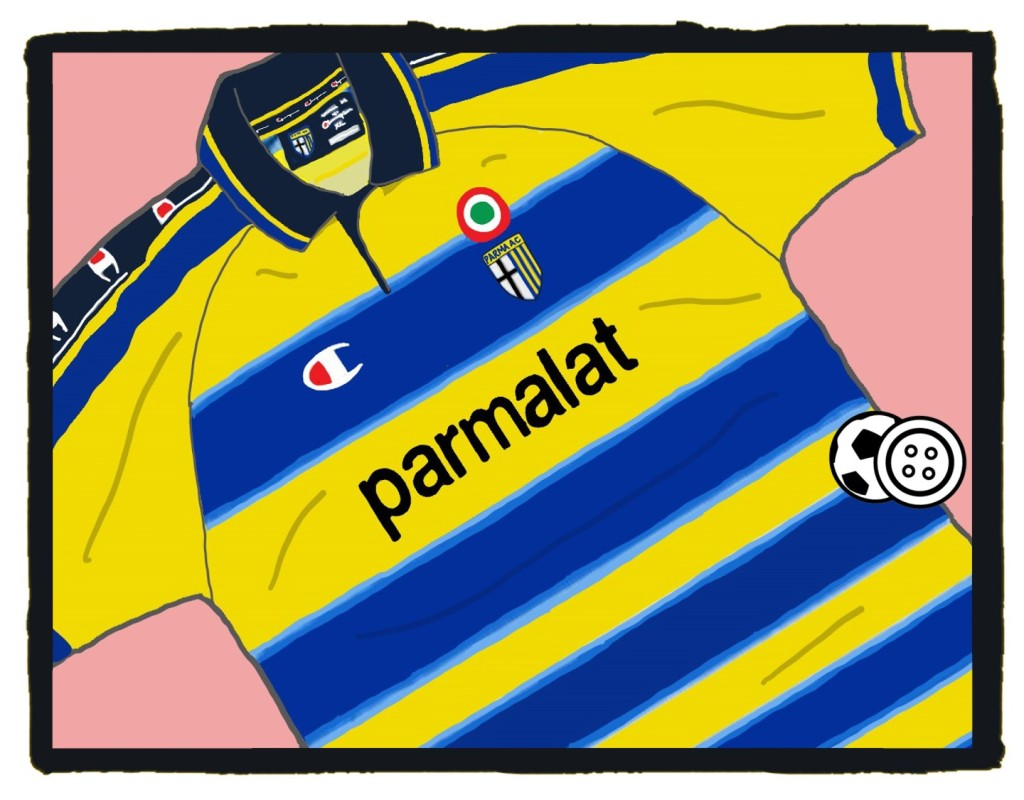 Parma, 1999-2000, Champion, kit, maglia, serie A, shirt