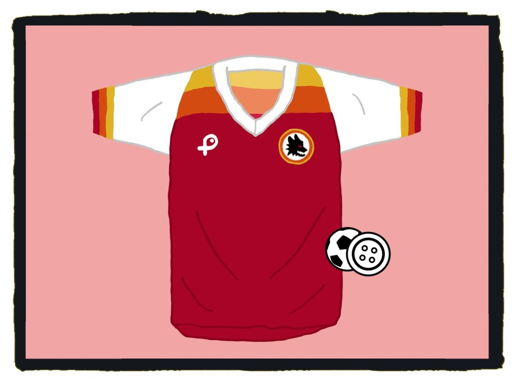 AS Roma, Pouchain, lollipop, Serie A, maglia