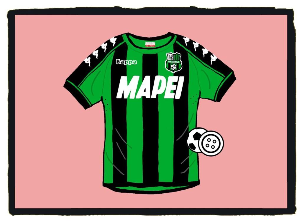 Sassuolo, Neroverdi, Kappa, kit, shirt, maglia
