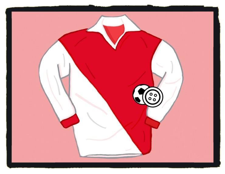 AS Monaco, 1960-61, Ligue 1, Champions, Princess Grace, Maillot, Shirt, Jersey