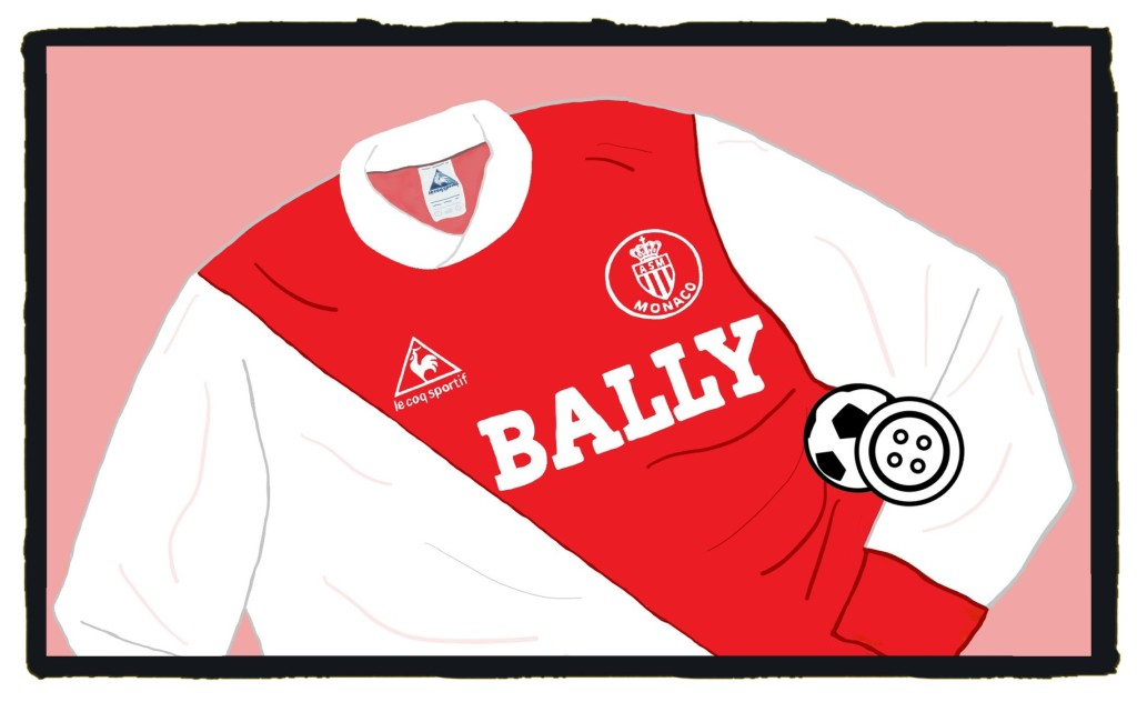 Monaco, Bally, Le Coq Sportif, Maillot, 1980s, Shirt