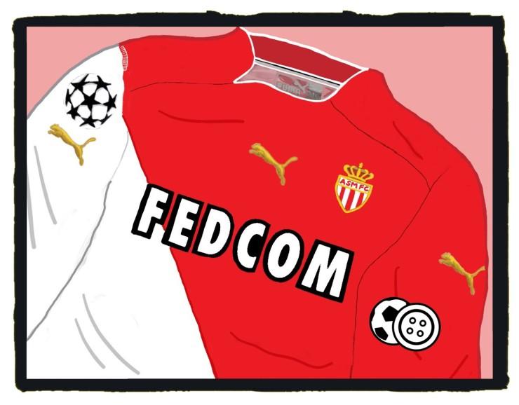Monaco, Puma, Champions League final, shirt, maillot, 2004