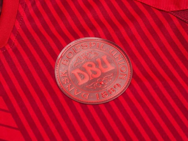Denmark, Hummel, Euro 2020, 3rd shirt, Red Wall, Den Rode Mur