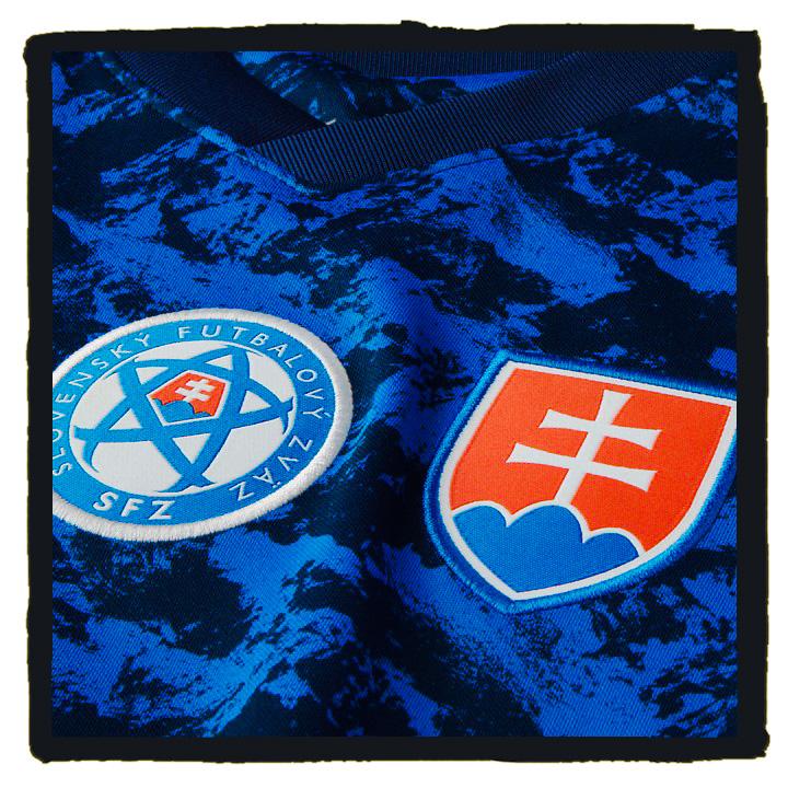 Slovakia, Nike, Euro 2020, Shirt