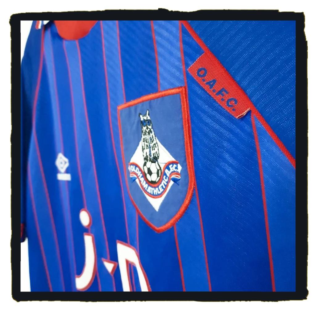 Oldham Athletic, Premier League, 1993-95, Umbro
