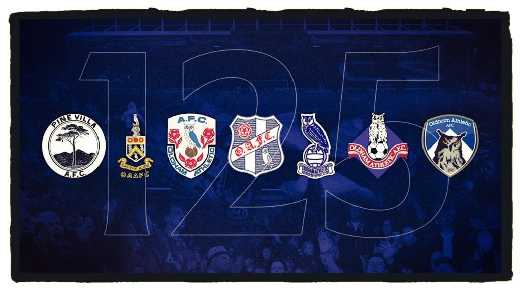Oldham Athletic Football Club Badge history