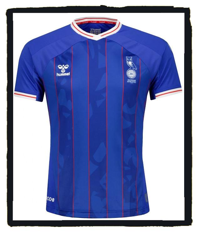 Oldham Athletic, Hummel, new football shirt, 2021-22