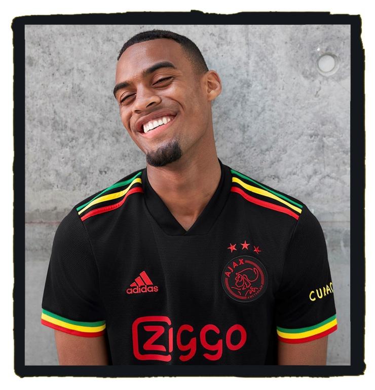 Ajax, Bob Marley, adidas, football kit, Amsterdam