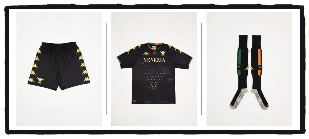 Venezia FC, Kappa, Home, Kit, 2021-22