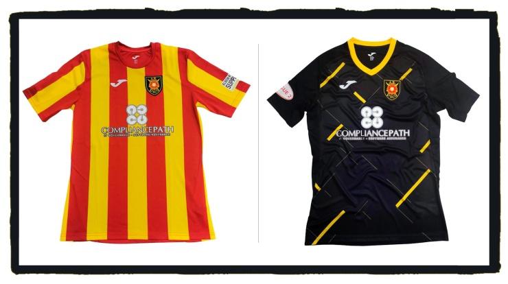 Albion Rovers, 2021-22, home & away, shirts, kit, Joma