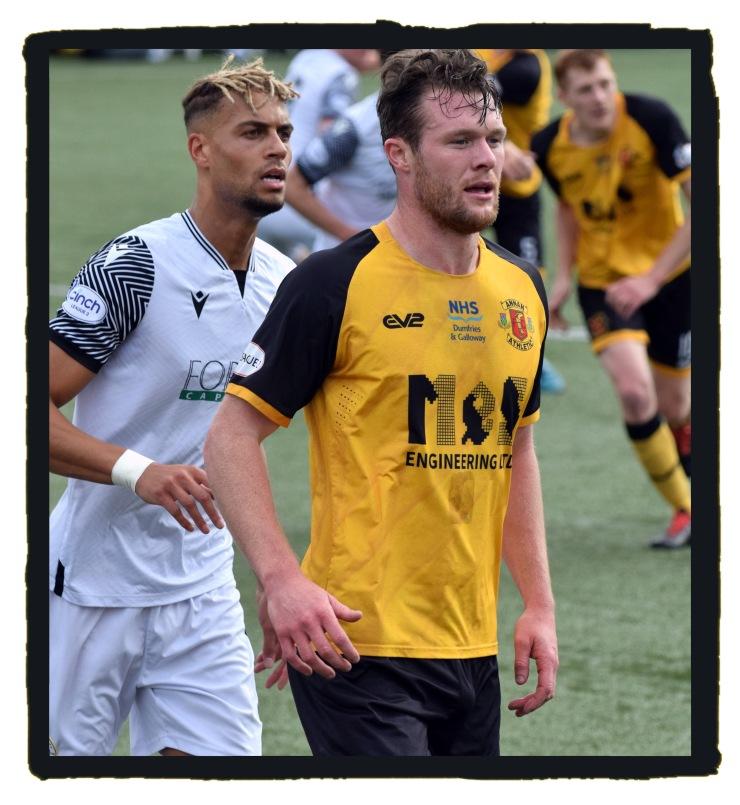 Annan Athletic, home kit, EV2