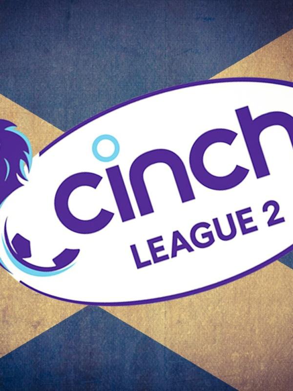 Scottish, football, league Two, logo, cinch