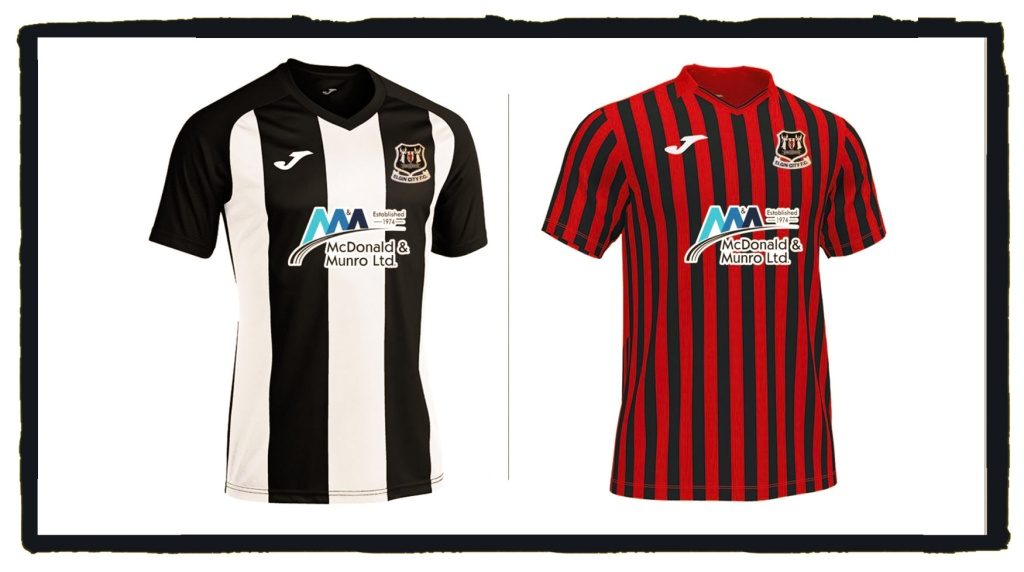 Elgin City, home and away by Joma